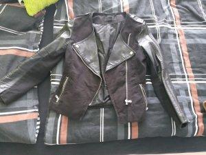 H&M Kort jack zwart