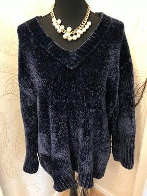 Zara Knit Jersey holgados multicolor