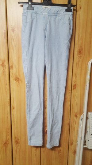 Pimkie Jeggings white-baby blue