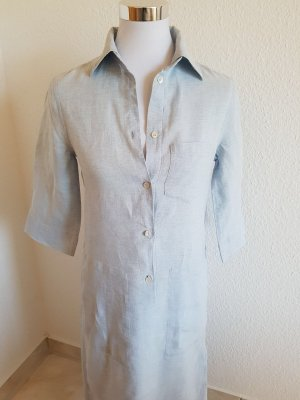Sehr hochwertiges Maxi Leinen Kleid von Strenesse Blue in Größe 34