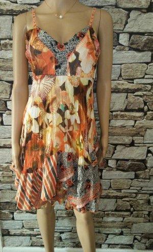 Bustier Dress multicolored mixture fibre