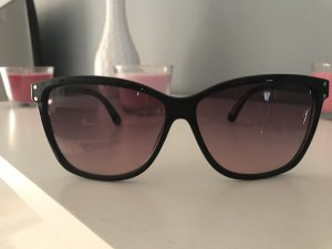 Oval Sunglasses black-rose-gold-coloured