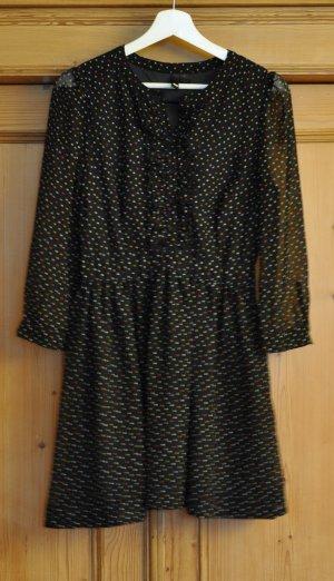 Sehr hübsches Kleid mit kleinen, bunten Pünktchen