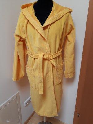 100 Bathrobe dark yellow cotton