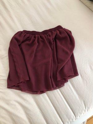 American Apparel Miniskirt bordeaux