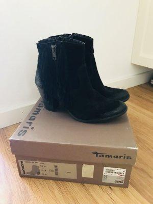 Sehr qualitative coole Tamaris Boots in schwarz neuwertig