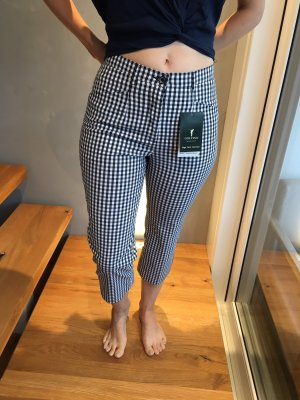 Golfino 7/8 Length Trousers white-black