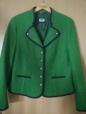 Sehr schicke grüne Walkjacke in Größe 44