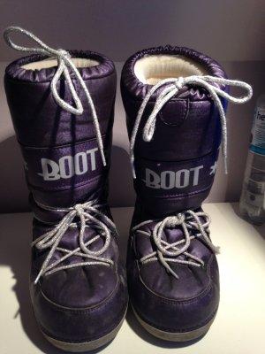 Sehr schön glitzernde Moon Boots
