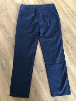 Boden 7/8 Length Trousers dark blue cotton