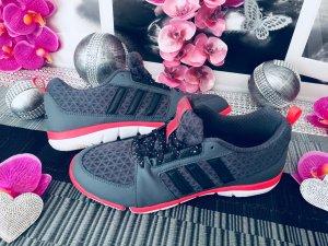 Adidas Originals Lace-Up Sneaker grey-magenta