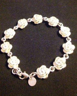 Sehr schöne Armband Rosen versilbert 925