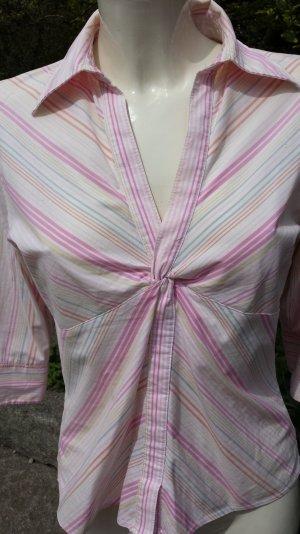 sehr schöne Bluse von H&M, in pastellfarben gestreift