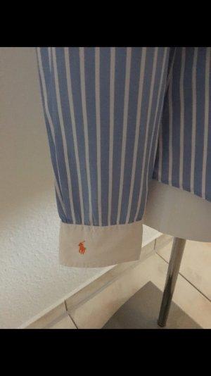Sehr schöne Bluse von Ralph Lauren blau weiß gestreift Größe 36(6)