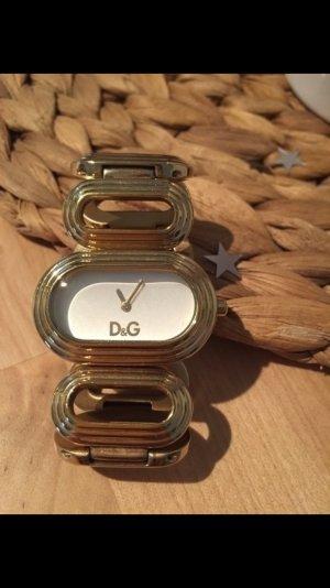 Sehr schöne goldene Uhr von D&G