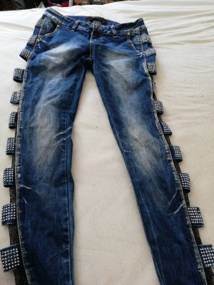 Denim Shorts dark blue