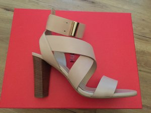 HUGO Hugo Boss Strapped High-Heeled Sandals multicolored leather