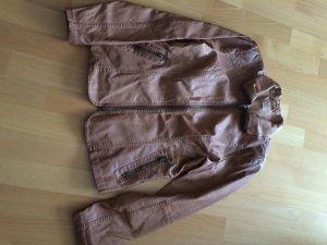 sehr schöne Jacke aus Kunstleder