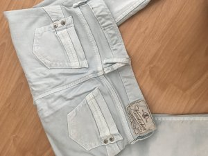 Sehr schöne Jeans von Herrlicher, Grösse 27/34 in graugrün