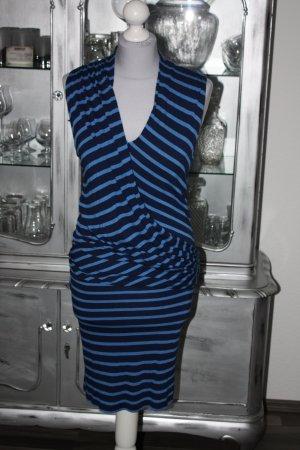 Sehr schöne Kleid 34 groß im blaue Streifen VILA