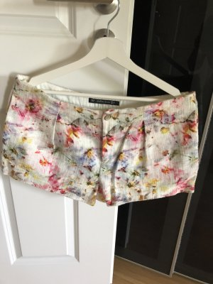 Zara Skort multicolore coton