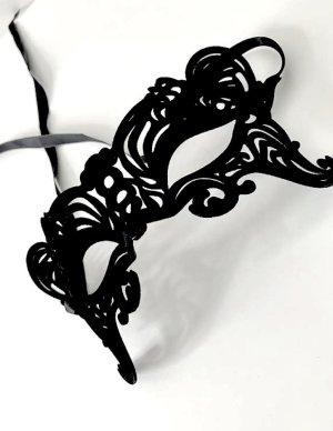 Hoofdsieraden zwart kunststof