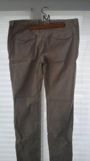 Marc O'Polo Pantalon en velours côtelé beige clair coton