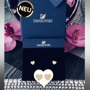 Sehr schöne & neue - Swarovski- Herzohrstecker