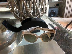 Prada Glasses beige-light brown