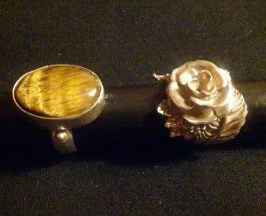 Sehr schöne Ringe Silber 925 jede 17