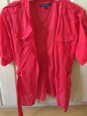 Sehr schöne rote Sommer Bluse