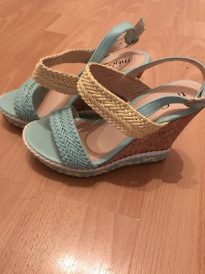 Mia Wedge Sandals primrose-mint