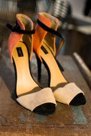 Zara High Heel Sandal multicolored