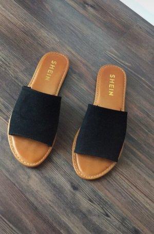 SheIn Comfort Sandals black