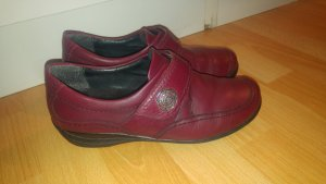 ara Ballerinas bordeaux leather