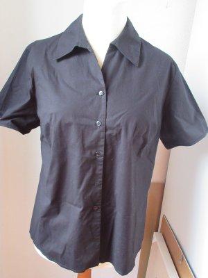 Sehr schöne schwarze Bluse, kurzärmelig