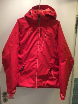 Veste d'extérieur rouge polyester
