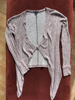 American Eagle Outfitters Knitted Cardigan carmine-white