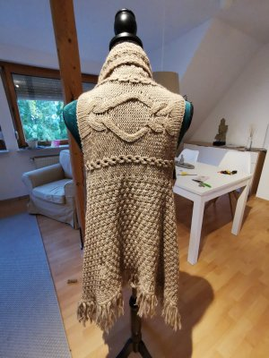 Comma Knitted Vest camel