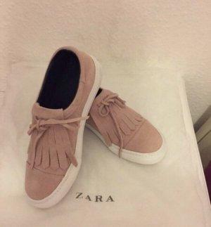 Zara Basket or rose-rose
