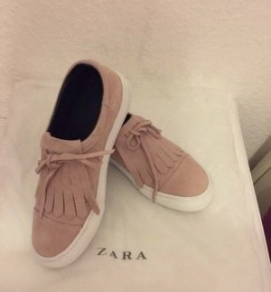 Zara Zapatillas color rosa dorado-rosa