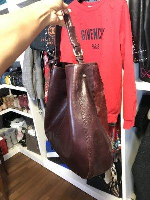 Sehr schöne Tasche , Leder , Farbe Bordeaux