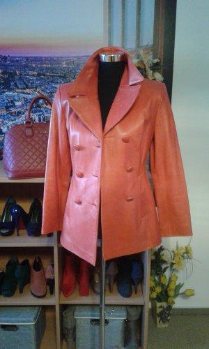 Long Jacket brick red
