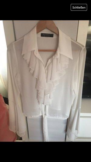 Sehr schöne weiße Bluse