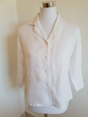 Sehr schöne weiße Leinen Bluse (Jacke)Hennes Collection Große 38
