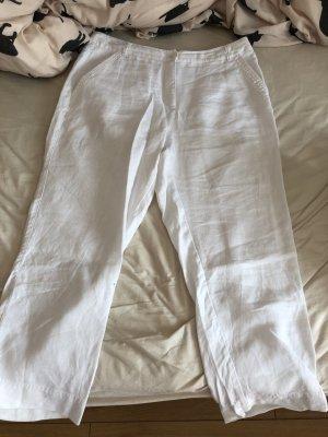 Sehr schöne weiße Stoffhose