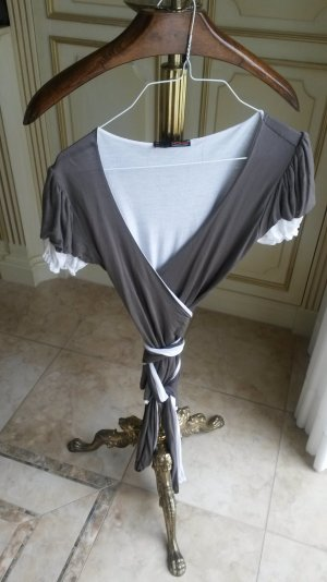 sehr schöne wickelshirt/bluse wie neu!