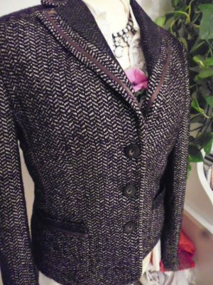 Gerry Weber Wool Blazer dark brown