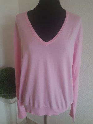 Sehr schöner Baumwolle Pullover von Ralph Lauren Rosa Gr: M