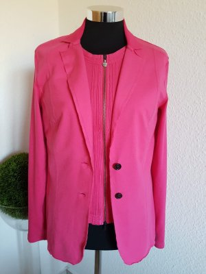 Marc Cain Jersey blazer roze